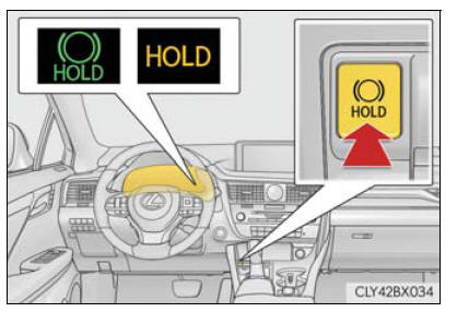 Lexus RX. Driving procedures