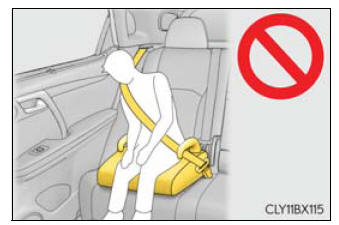 Lexus RX. Child restraint systems