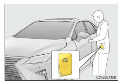 Lexus RX. Steps to take in an emergency